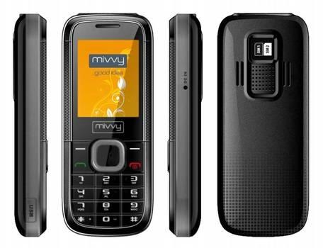 obrázek - GSM mivvy Dual mini black