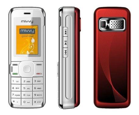 obrázek - GSM mivvy Dual mini red