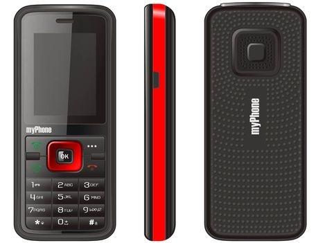 obrázek - GSM myPhone 3010 Black Red Dual SIM