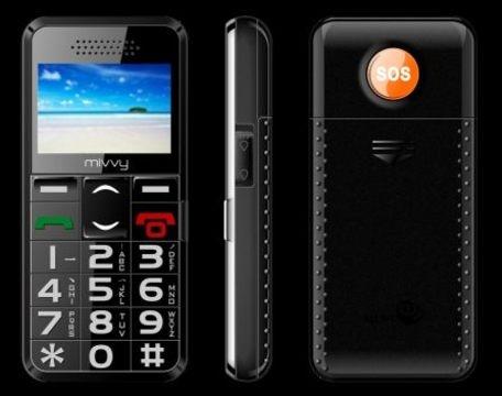 obrázek - GSM mivvy 112d Senior Black