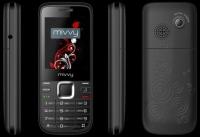GSM mivvy Dual hero II Black