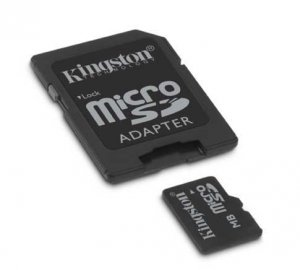 obrázek - 2GB Micro Secure Digital Card (SD) Kingston adapt.